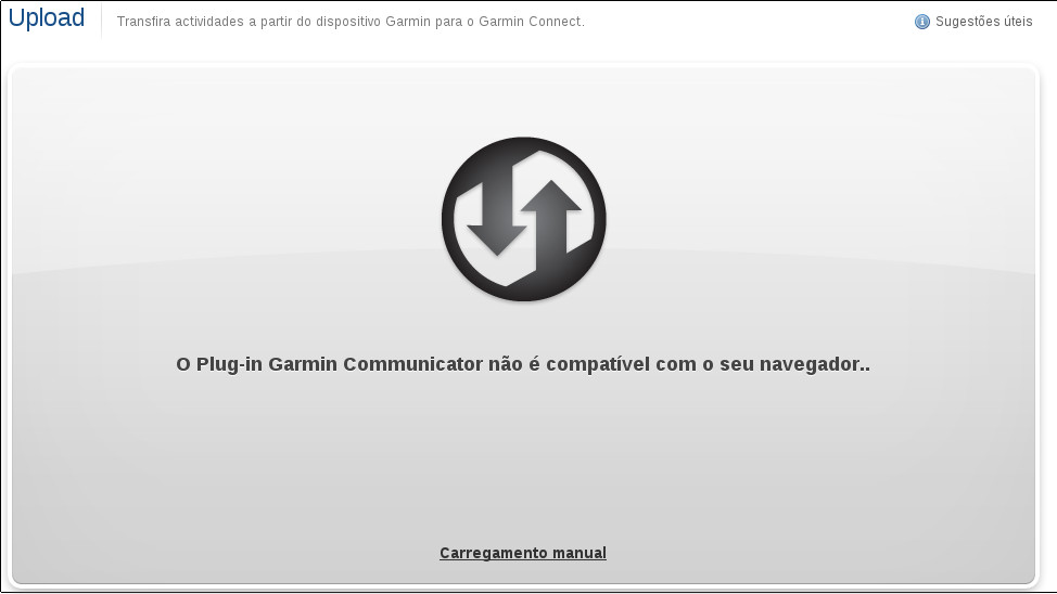 how to upload activities to garmin connect
